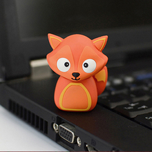 Buy cartoon Fox Model USB Flash 2.0 Memory Drive Stick Pen/Thumb/Car usb flash drives 4gb 8gb 16gb 32gb 64gb flash card pendrives for $2.79 in AliExpress store