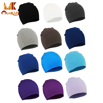 MK 2016 Autumn Winter Newborn Baby Boy Girl Hat Kids Cap Toddler Infant colorful Cotton Soft Cute Hats Beanie Free shipping