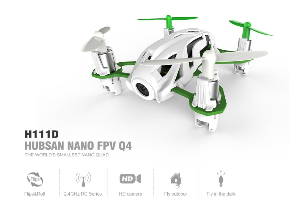 Hubsan H111D Q4 5.8G FPV With 720P HD Camera Altitude Hold Mode RC Quadcopter RTF F18826