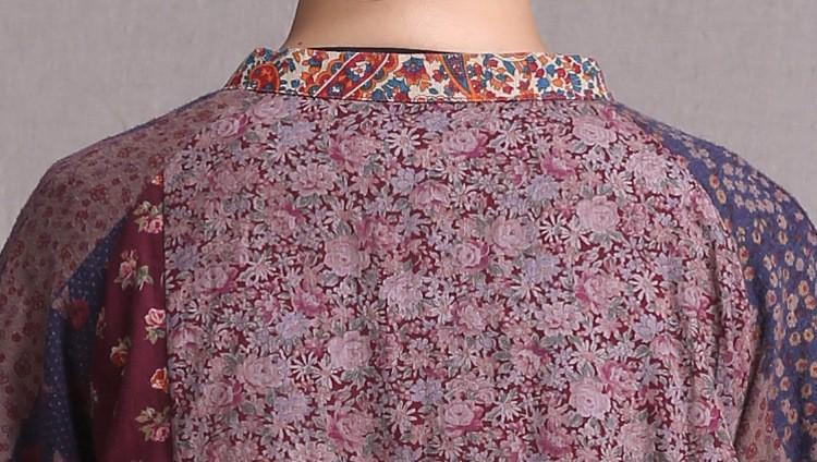 Китайская традиционная кофта Costume 100% tj45 blusas