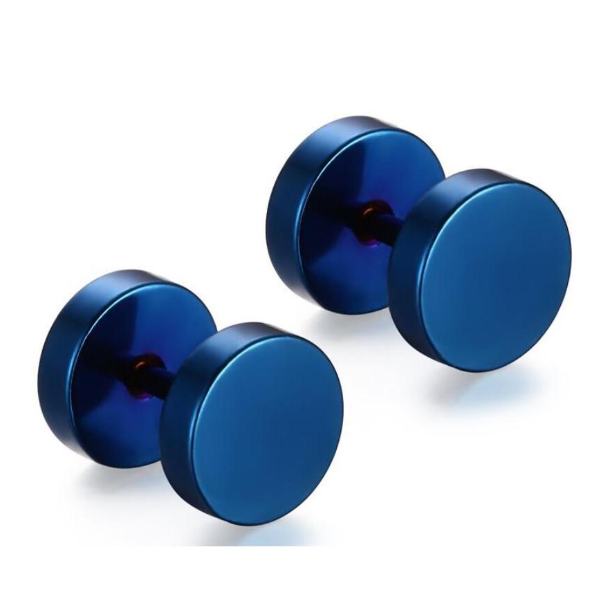 Punk rock high quality earrings for men wholesale cool men stud earrings stainless steel earrings(China (Mainland))