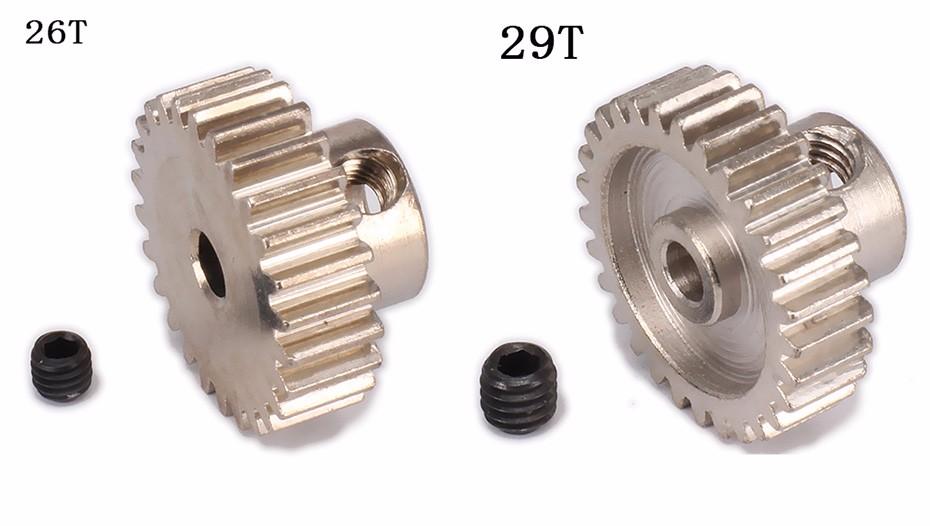 18T19T20T21T22T23T24T25T26T29T Tooth Teeth Pinion Gear for 1.10 model car  (1)