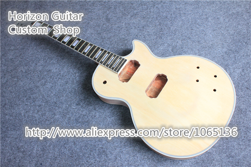Good Cheap China Musical Instruments LP Guitar Kit Unfinished Guitar Body without Hardware In Stock For Sale(China (Mainland))