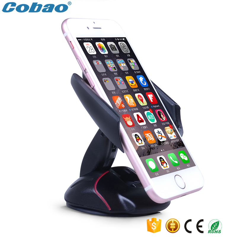 Universal mobile phone holder stand windshield car mount holder 360 Rotating mouse shape for Iphone 5s 6 6s galaxy s4 s5 s6 s7(China (Mainland))
