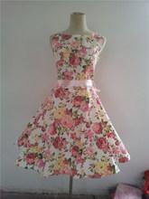 free shipping 50s Sleeveless Satin Rockabilly Swing Dress Pin Up Retro Classic Audrey HepburnBestdress vestidos