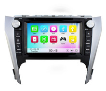 Wince 6.0 MT3360 3G WIFI HD 1080P Car DVD Player Radio Stereo GPS Navigation system For Toyota Camry 2012 2013 2014