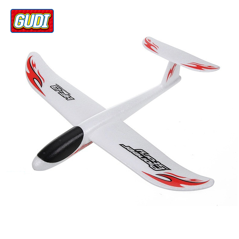 Hand Launch Glider Sports Outdoors Fun Toys Novelty Airplane Model Foam Paper Planes Original Box Outdoor Games for Children(China (Mainland))