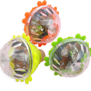 Colorful spinning top spinning top luminous spinning top flash spinning top toy