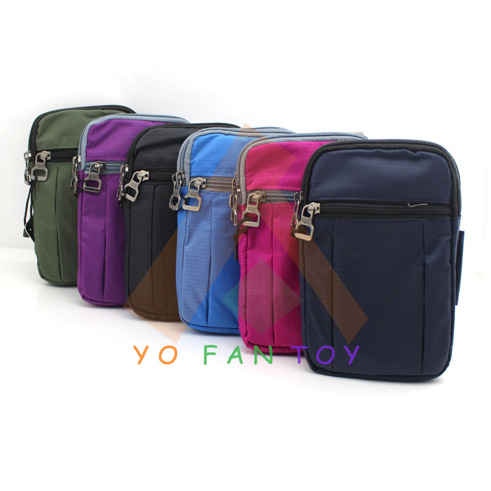 Army Utility Outdoor Sports Waist Bag Pack Belt Pouch Soft Handbag Sling Wallet Cell Phone Case Carabiner - Yofantoy Int'l Trade Limited store