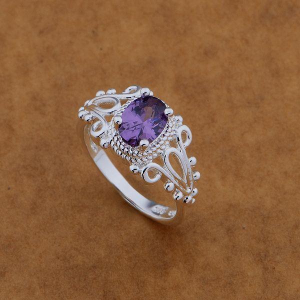 Бесплатная доставка содействие посеребренные кольца мода Jewerly кольцо женщины и ...