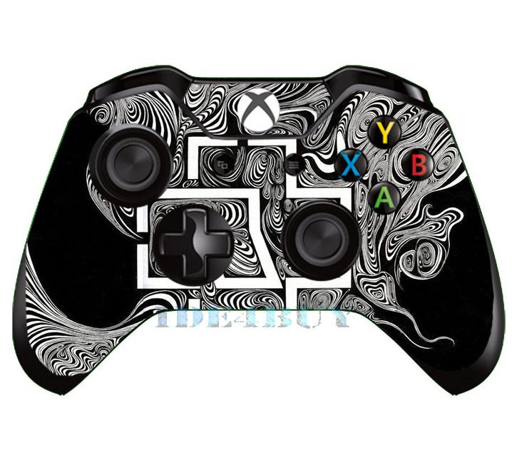 Book Cover White Xbox One : Black and white style skin for xbox one box