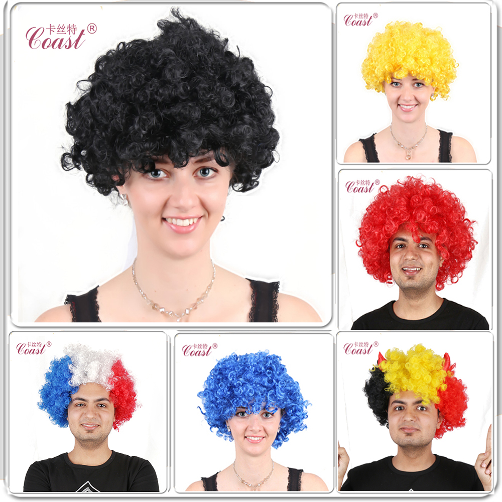 2015 Hot-selling Afro Men Lady Wigs Cosplay Costume Party Synthetic Hair Wigs Halloween Carnival Wigs Free Shipping QY045(China (Mainland))