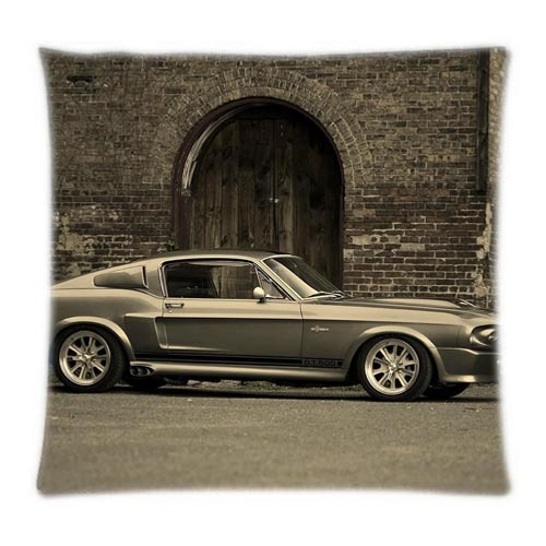 Eleanor Mustang Ford Mustang GT Ford Mustang Shelby 16x16,18X18,20x20,24x24 Inch Two Sides Custom cases(China (Mainland))