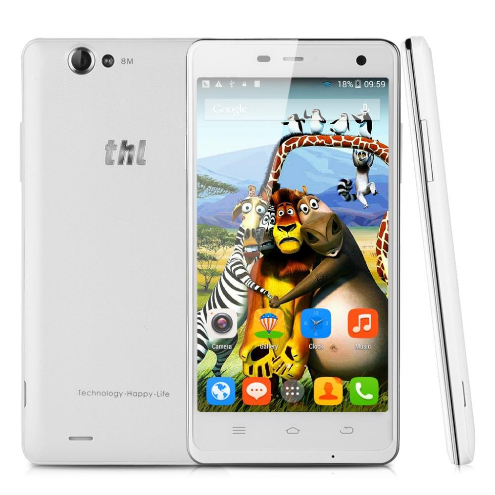 "Original THL 4400 MT6582M Quad core 5"" HD IPS 1280*720 ROM 4GB RAM 1GB 4400mAh Power Bank Android 4.2.2 OTG WIFI Smart Phone(China (Mainland))"