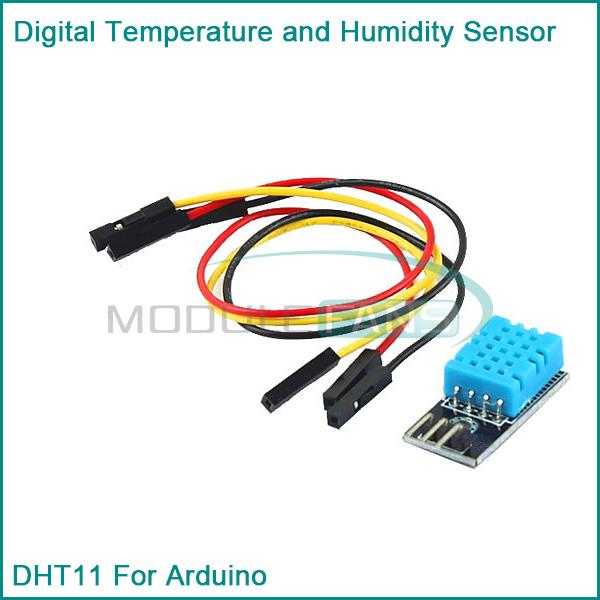 Гаджет  10PCS New DHT11 Temperature and Relative Humidity Sensor Module for arduino None Электронные компоненты и материалы