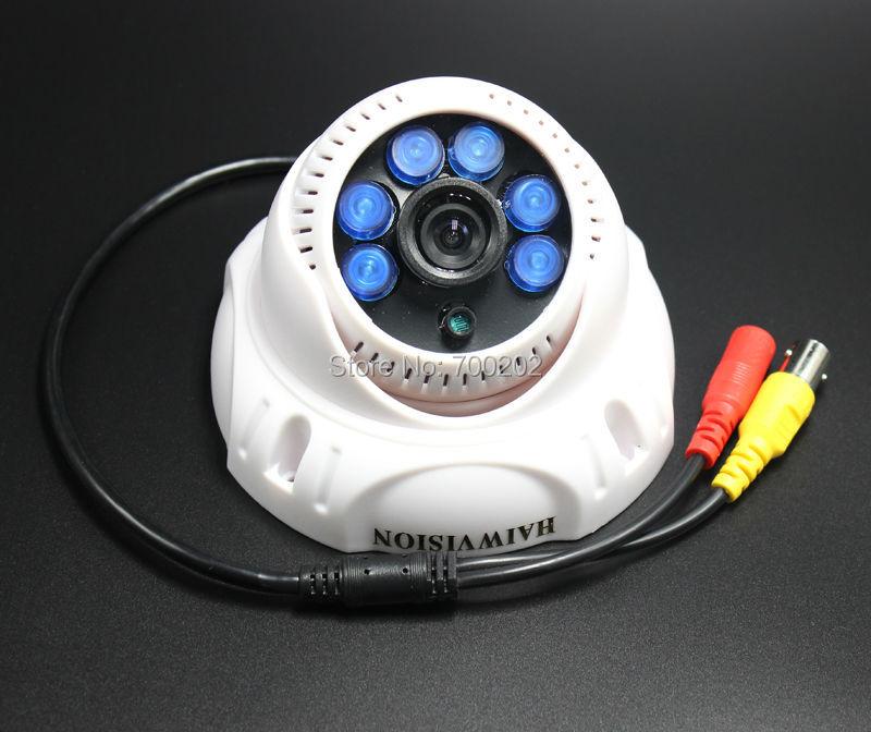 1/3 CMOS 1200TVL Indoor security CCTV camera 6 IR LED home Video Surveillance hd night vision video mini Dome Camera<br><br>Aliexpress