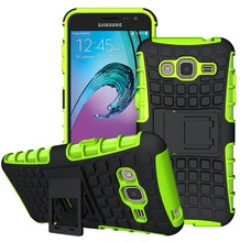 Hard Silicone Cover Case For Samsung Galaxy J3 J5 J7 J1 2016 J120F J320F J1 Ace Mini J105F Shock Absorbing Cover Stand Hard Case(China (Mainland))