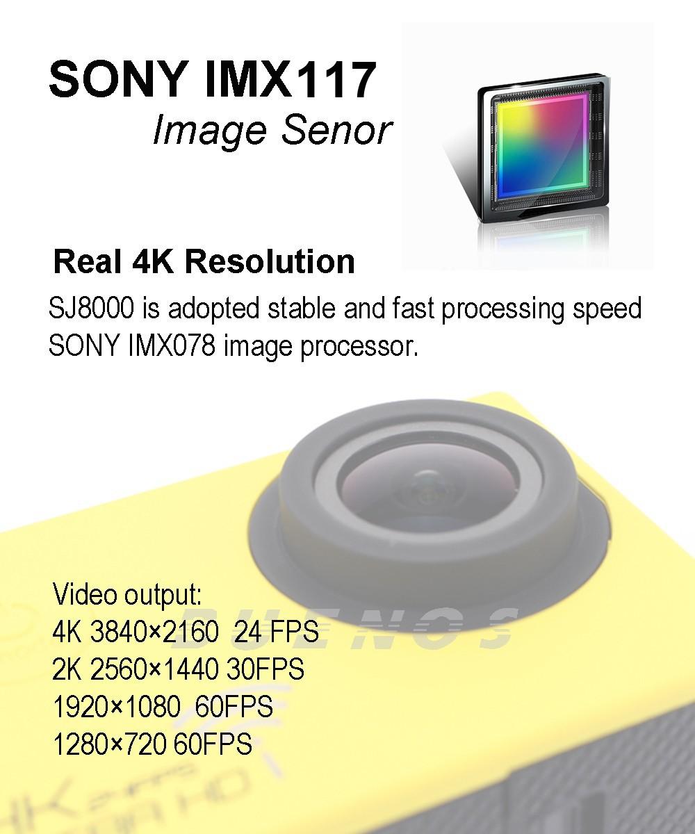 SJ8000 SENSOR b