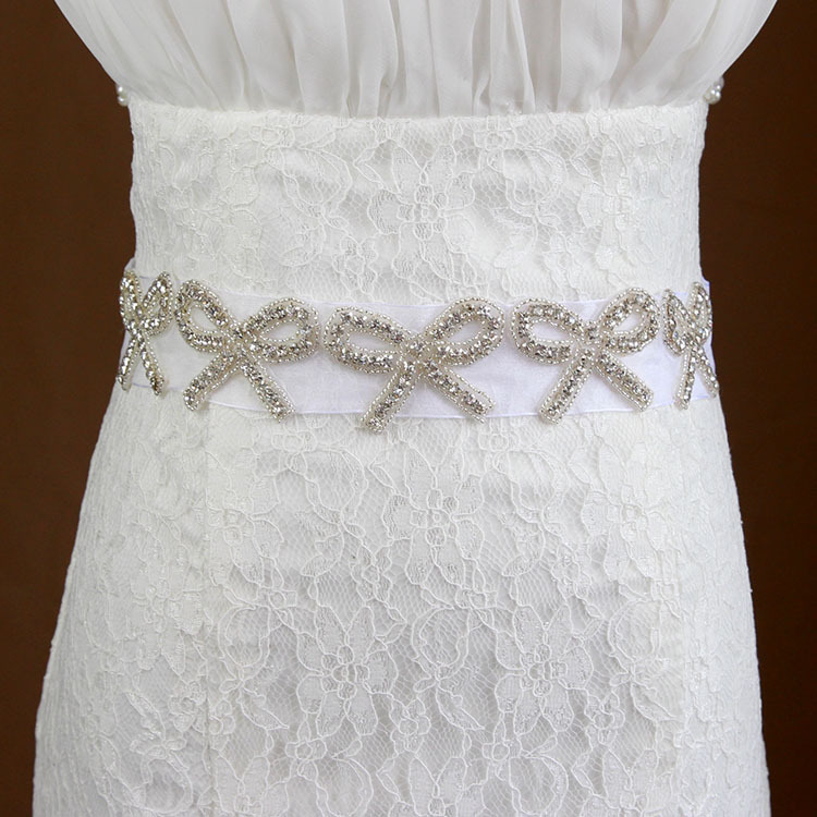 handmade wedding belt bridal sash wedding dress