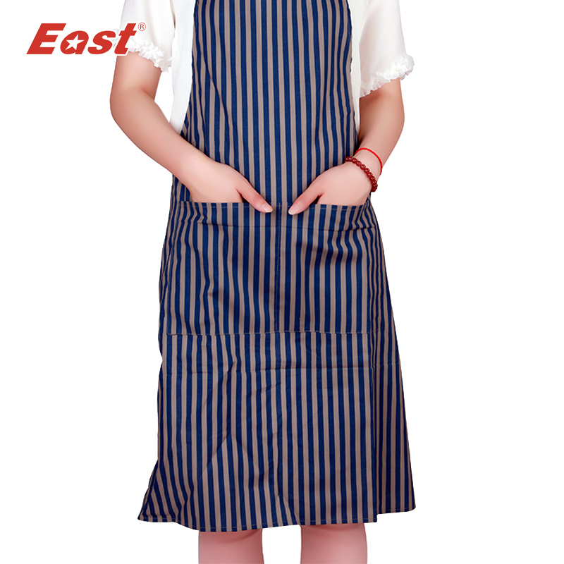 EAST apron 100%cotton kitchen apron costume dress clothes wear waterproof set multicolor factory selling home product supplier(China (Mainland))