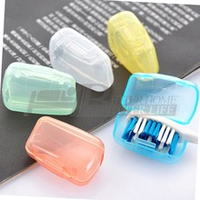5Pcs/set  Portable Toothbrush Cover Holder Travel Hiking Camping Brush Cap Case YKS(China (Mainland))