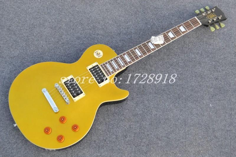 Wholesale Free shipping custom slash goldtop electric guitar LP guitar(China (Mainland))