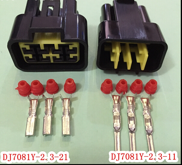 50 Sets/Kit 8 Pin/Way Waterproof Electrical Wire Connectors DJ7081Y-2.3-11/21 Male and female Automobile Connector(China (Mainland))