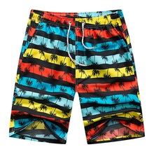 Homens Swimwear Praia Board MoneRffi Curto Quick Dry Sports Correndo Esportes Casuais Curto Surffing 4XL Curta Plus Size Swimsuit Caixas(China)