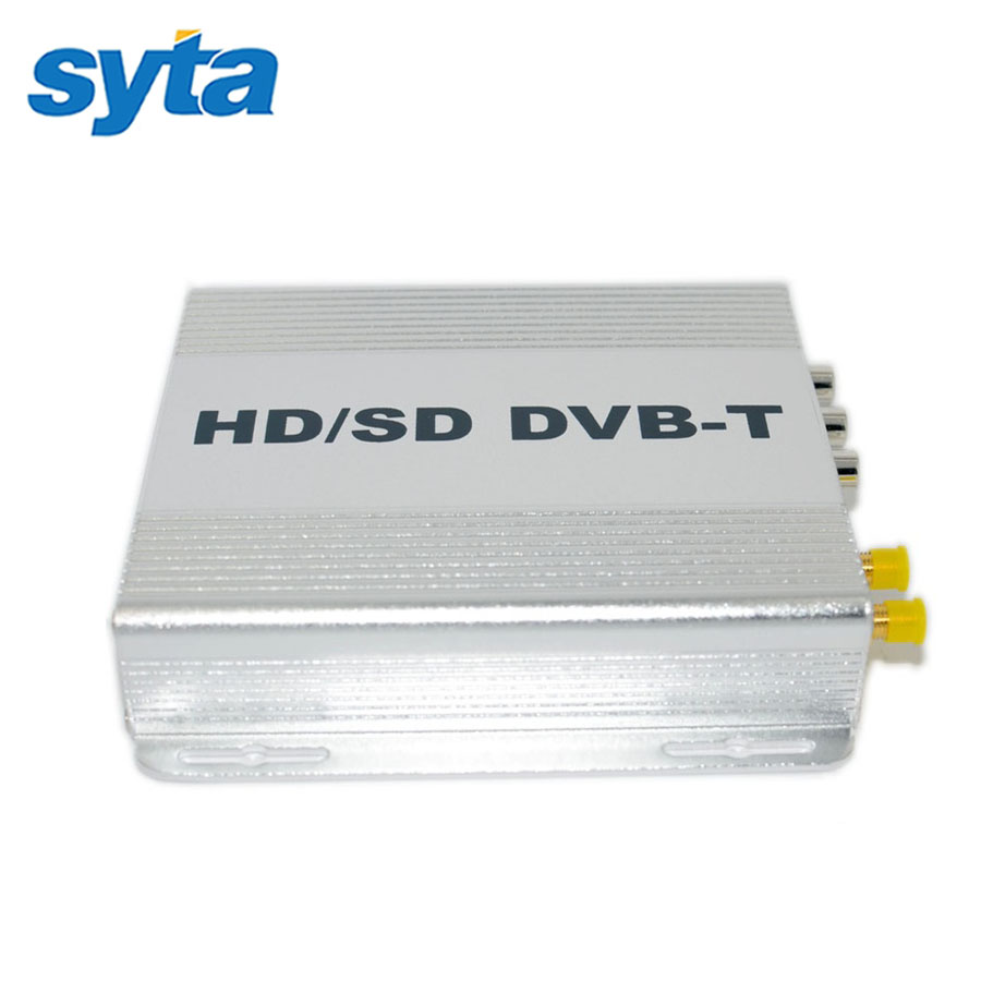 10PCS/Lot OEM SYTA DVB-T Car Set Top Box High Definition Digital Media Player Twin Tuners Special Design For Car(China (Mainland))