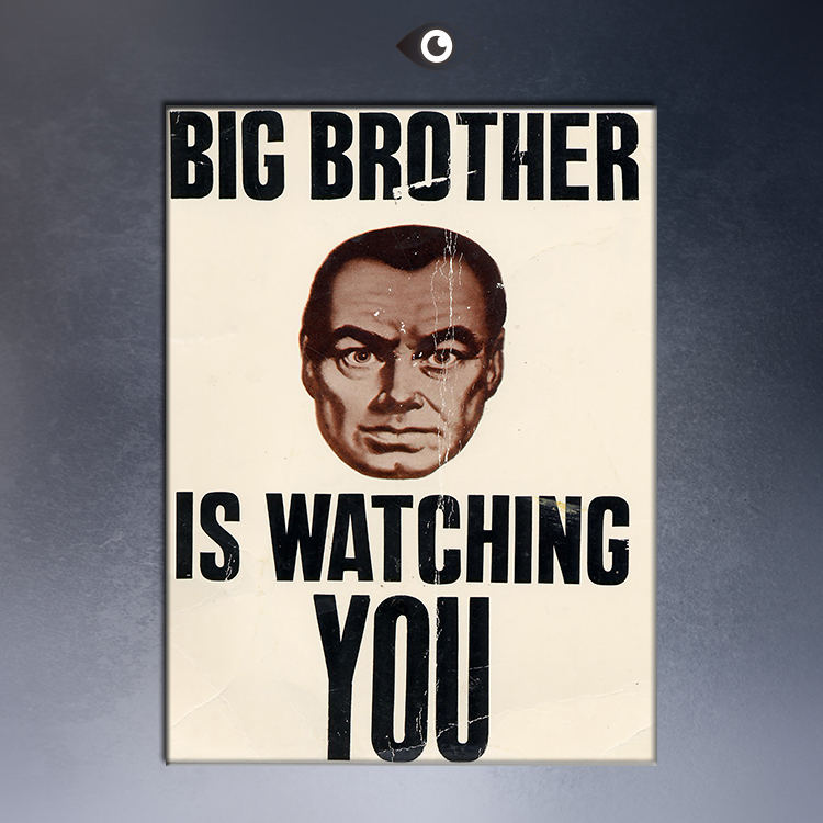 big brother poster wall picture painting prints on canvas free shipment(China (Mainland))