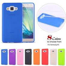 Fresh Candy Color Phone Case For Samsung Galaxy A5 A5000 Ultra Slim TPU Silicon Gel Back Cover Case Fudas Capa(China (Mainland))