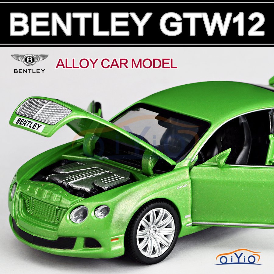 Car Model Bentley 1:32 Pull Back Acousto-optic Toys Authorized Car Model toy Classic Alloy Antique Car Model Wholesale VB32073(China (Mainland))