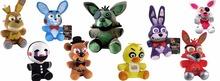 Buy Fast 90pcs FNAF Funko five nights freddy Foxy bear toy plush dolls stuffed animals plush fox toys for $420.00 in AliExpress store