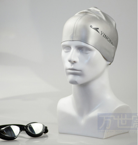 New Fashionable Top Level Fiberglass Head Mannequin Male For Hat/ Wig/ Headphones Made In China Guangzhou(China (Mainland))