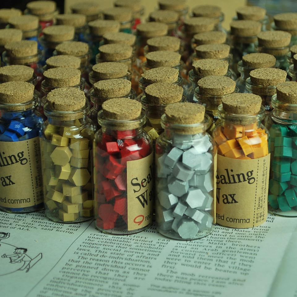 Hotsale sealing wax stamp special partner Vintage bottled granules gift box set - HANDWORK DIY STORE store