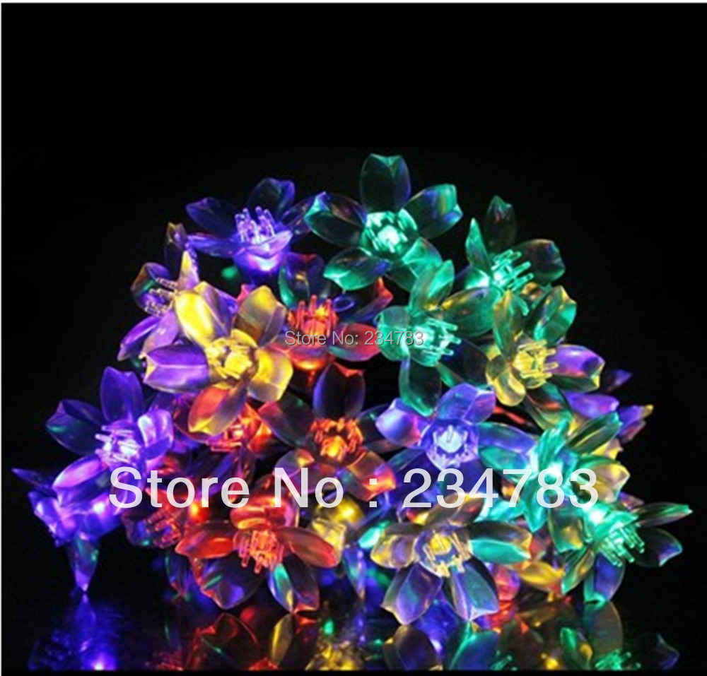 Led Christmas String Lights 10M/100 Blossom Fairy Light 8 Function Modes Indoor Patio, Parties, Weddings Multi Color - Wishled Tech store