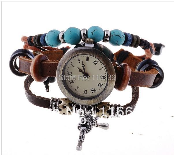Bsl957 baosaili Для женщин браслет Часы Ретро браслет