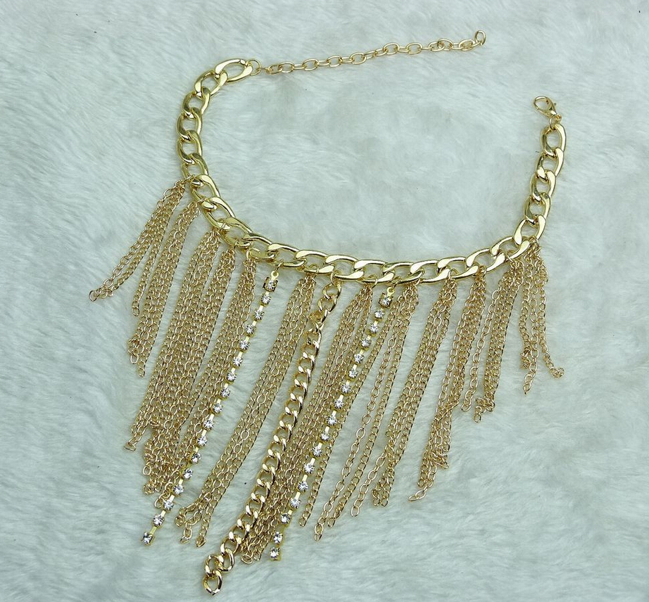 Foot Jewelry Chain Link Anklets Nice Gift For Women Party Tassels High Heel Shoe Anklet Bracelets Fashion Accessories