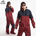 2016 snowboard jacket men ski suit waterproof Winter jacket men ski jacket snowboard Jumpsuit one piece
