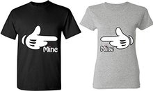 Buy Gildan Mine & Mine Finger Pointing Tee Matching Couple Shirts T-Shirts Tees for $25.79 in AliExpress store