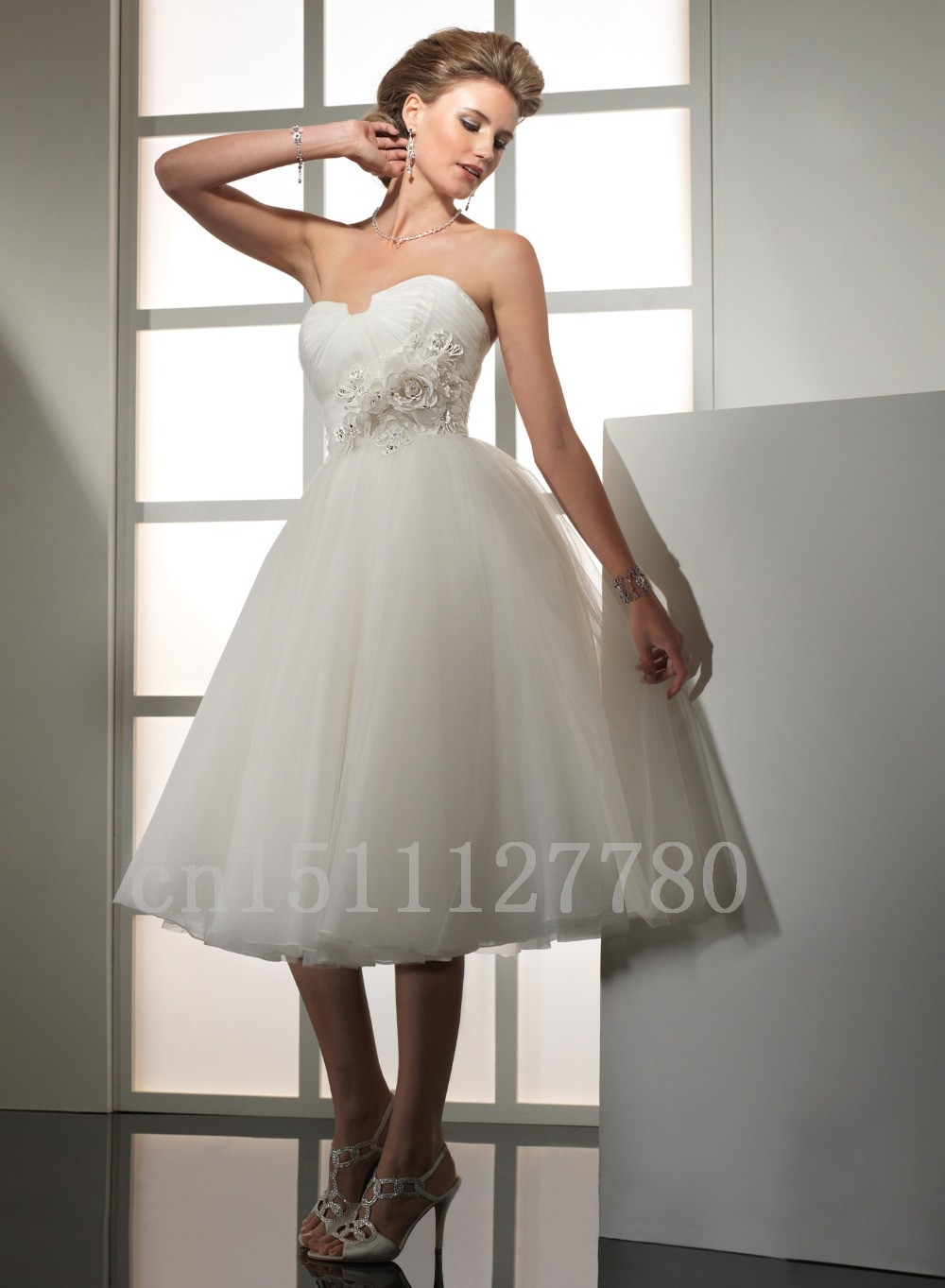 Cheap Tea Length Wedding Dresses | Dress images