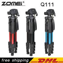 Новый Zomei Q111 Профессиональный Алюминиевый Штатив Камеры Стенд с Полукруглой Головкой для Dslr(China (Mainland))