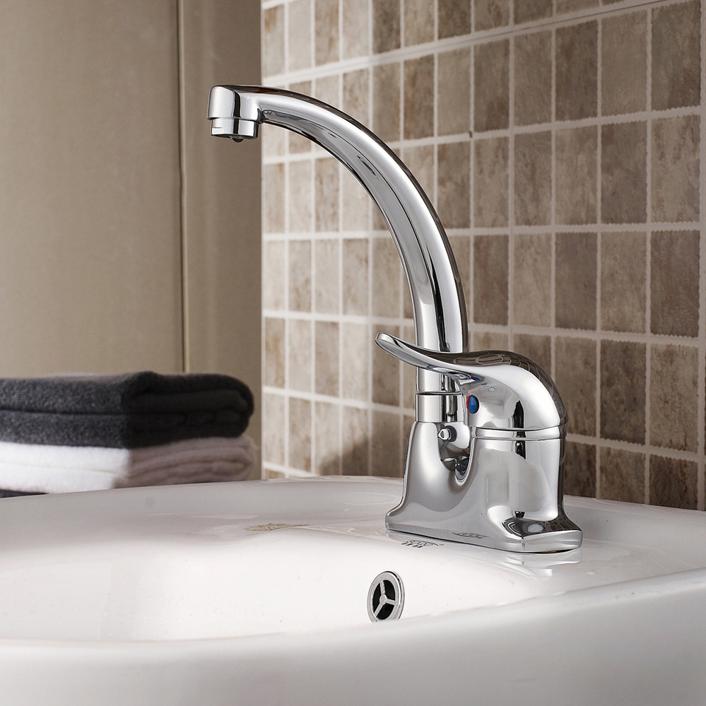 Stainless steel faucet sink basin hot and cold faucet modern(China (Mainland))