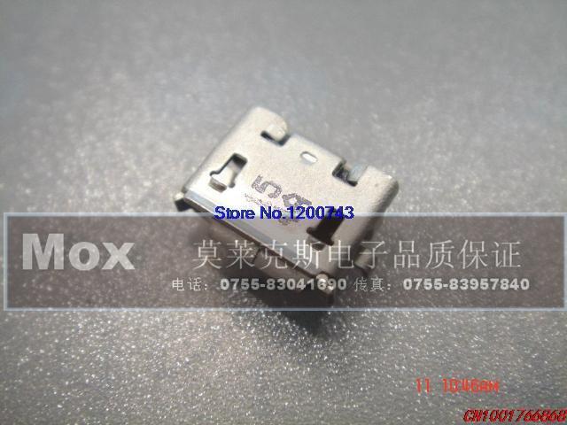 (10pcs/lot) Genuine 5P USB AB type USB female socket 47589-1001 bulk(China (Mainland))