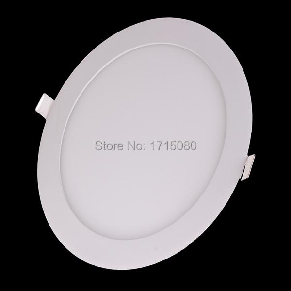 20pcs 3W 6W 9W 12W 15W 18W 24W LED downlight round flat LED panel/ painel light lamp 4000K for bedroom luminaire  via DHL  FedEx<br><br>Aliexpress