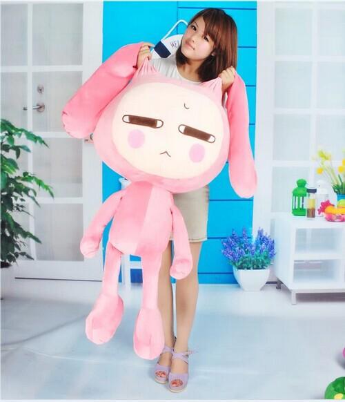stuffed animal 100cm plush pink Panst rabbit toy doll gift w2955<br><br>Aliexpress