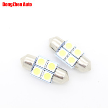 Buy 1X 24v Auto C5W C10W 4 5050 31mm Car LED Interior Dome Festoon Light Automobile Reading Map Cargo Light Door Licence Plate Light for $1.21 in AliExpress store