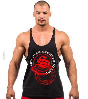 Men's Gym SUN/GASP/Golds GYM Tank Tops Muscle Stringer Bodybuilding Clothes Fitness Vest Sports tank tops - AA TOP Co.,Ltd store
