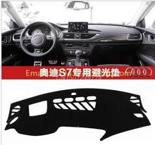 Автомобиль приборной панели крышки инструмент платформа площадку автомобиль аксессуары наклейка. Подходит audi A7 S7
