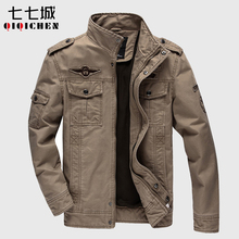 Buy 6XL Casual Man Winter Jackets Men Coats Army Military Outdoors Men Jacket Mens Bomber Jacket Male Coat Clothes Overcoat Spring for $38.99 in AliExpress store